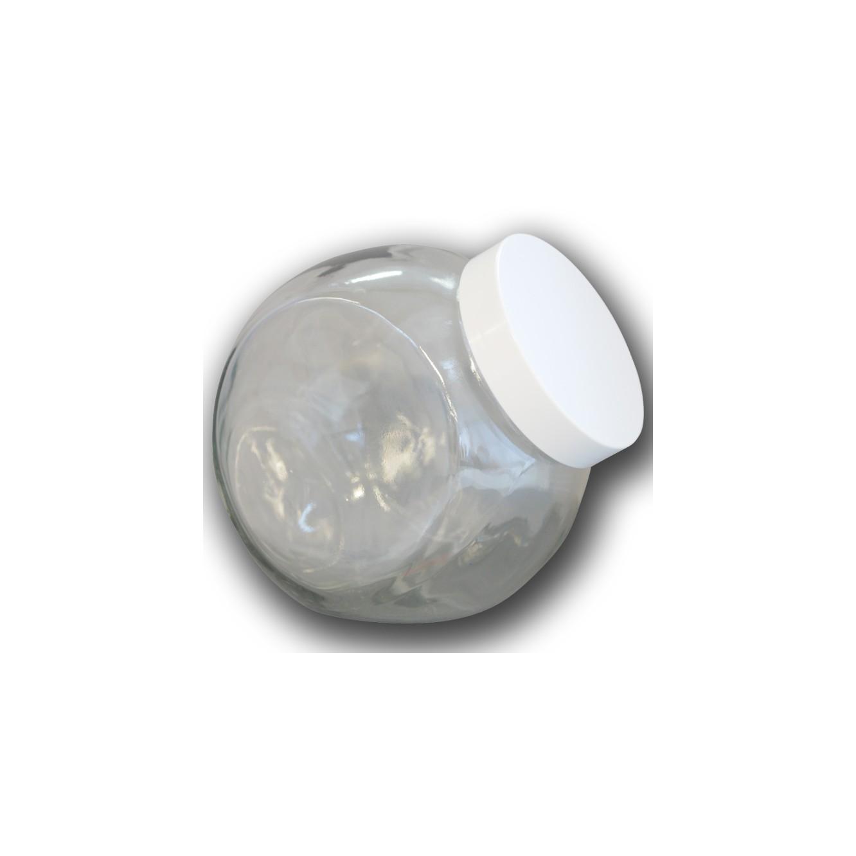 Glazen snoeppot 2L